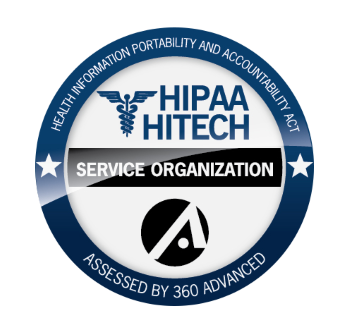 360 Advanced | HIPAA HITECH COMPLIANCE BADGE