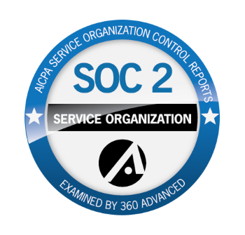 360 Advanced | SOC2 COMPLIANCE BADGE