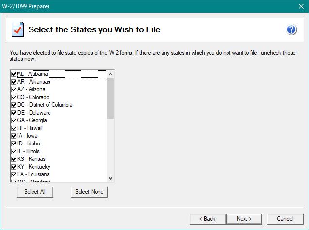 Aatrix :: W-2 eFiling Process