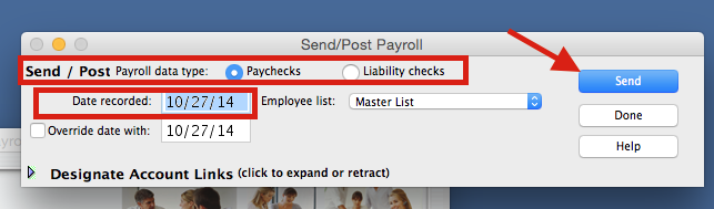 Learn how to post payroll to Quickbooks.