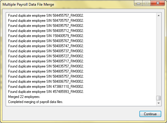 Learn how you can merge multiple data files.