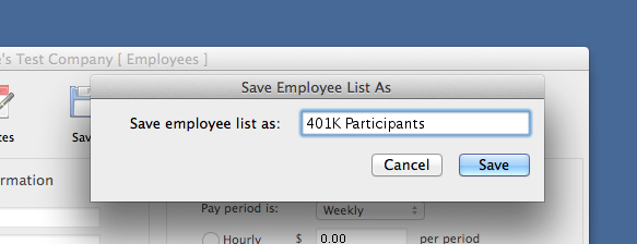 Learn how to create and maintain your employee lists.