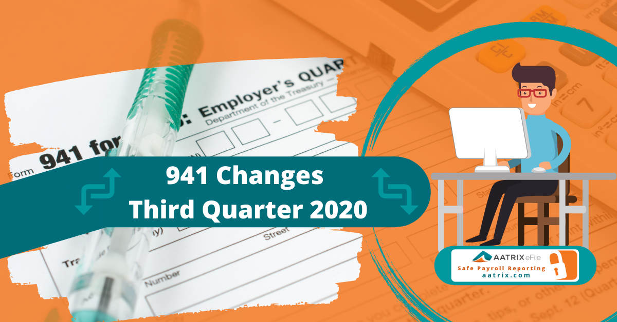 941 Changes For The Third Quarter 2020