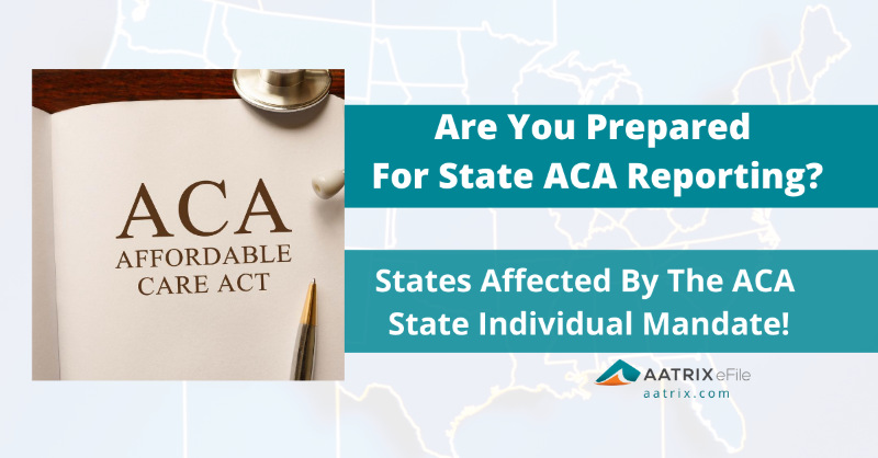 Which states are affected by the ACA state individual mandate? Currently there are 6 states that have passed legislation establishing an individual mandate