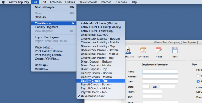 Learn how to align your Checkform for printing.