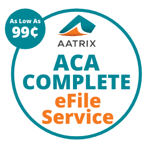 Aatrix ACA COMPLETE eFile Service - As low as 99 cents